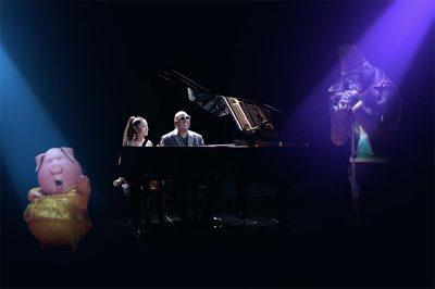Stevie Wonder e Ariana Grande se juntam aos bichos cantores de Sing em clipe animado