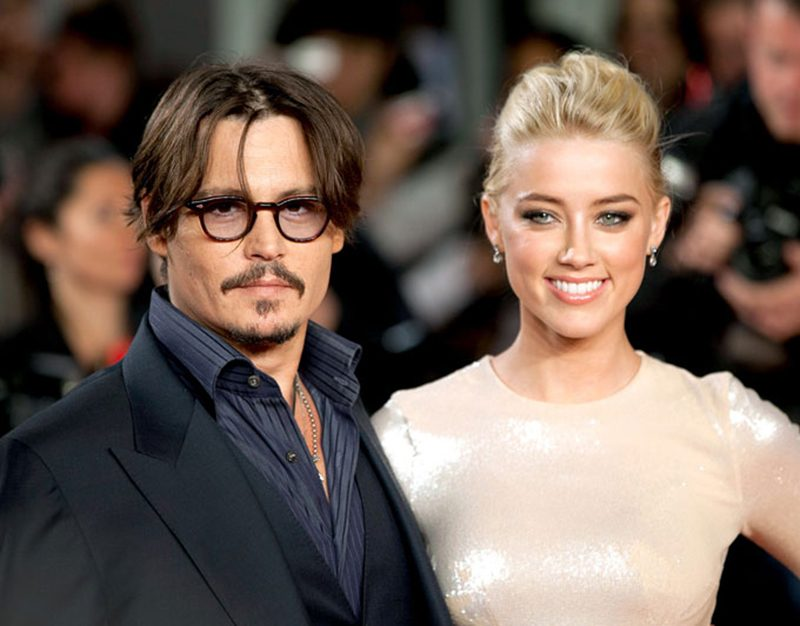Amber Heard acusa Johnny Depp de não cumprir acordo de divórcio