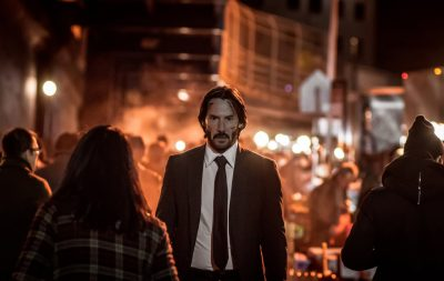 Keanu Reeves volta a viver John Wick em cena da continuação