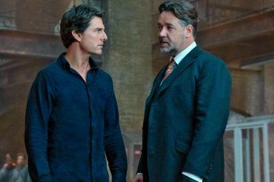 Nova foto de A Múmia junta Tom Cruise e Russell Crowe