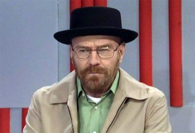 Bryan Cranston revive Walter White no programa humorístico Saturday Night Live