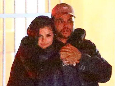 Selena Gomez é flagrada aos beijos com The Weeknd