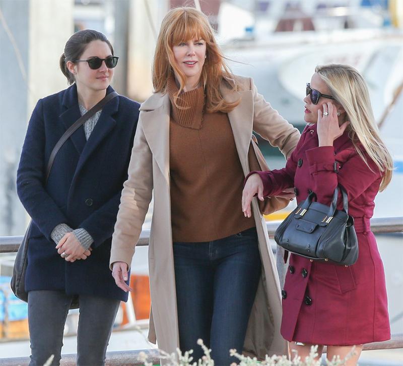 Minissérie que junta Reese Witherspoon, Nicole Kidman e Shailene Woodley ganha data de estreia e novo comercial | Pipoca Moderna