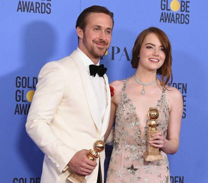 La La Land vence tudo e quebra recorde em consagração no Globo de Ouro