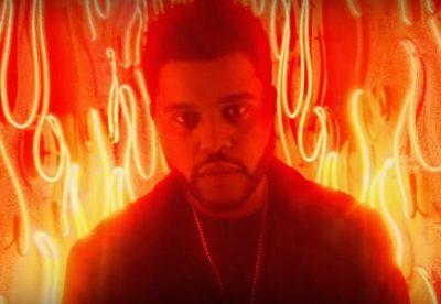 Top model sueca vira demônio de neon no novo clipe de The Weeknd