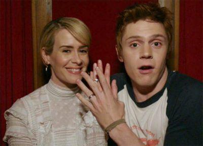 Sarah Paulson e Evan Peters vão voltar na 7ª temporada de American Horror Story