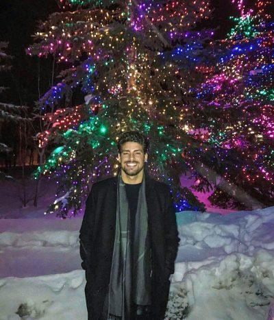 Cauã Reymond posta foto na neve em chegada ao Festival de Sundance