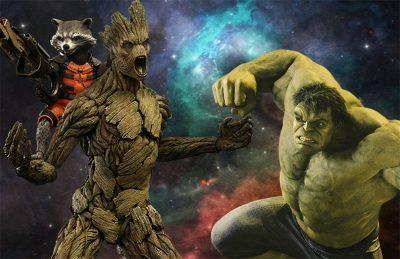 Vin Diesel indica encontro entre Groot e Hulk em Vingadores: Guerra Infinita