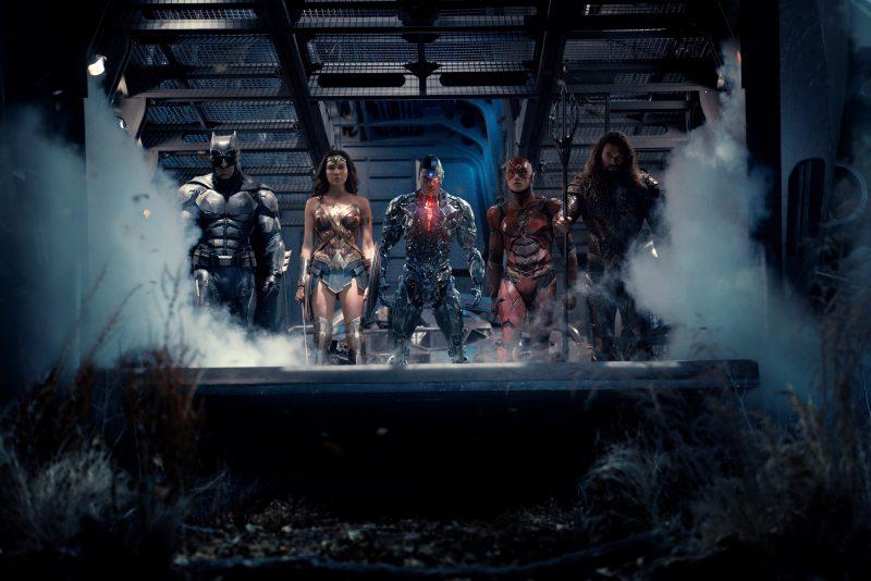 Super-heróis se juntam em nova foto da Liga da Justiça