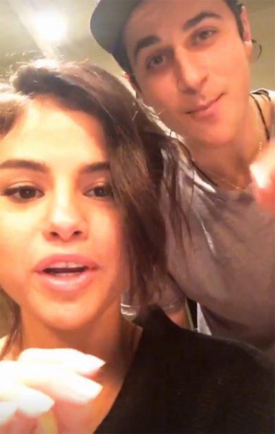 Selena Gomez reencontra David Henrie e imagina volta dos Feiticeiros de Waverly Place