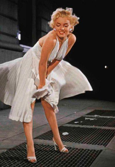 Surgem trechos perdidos da filmagem mítica de Marilyn Monroe em O Pecado Mora ao Lado