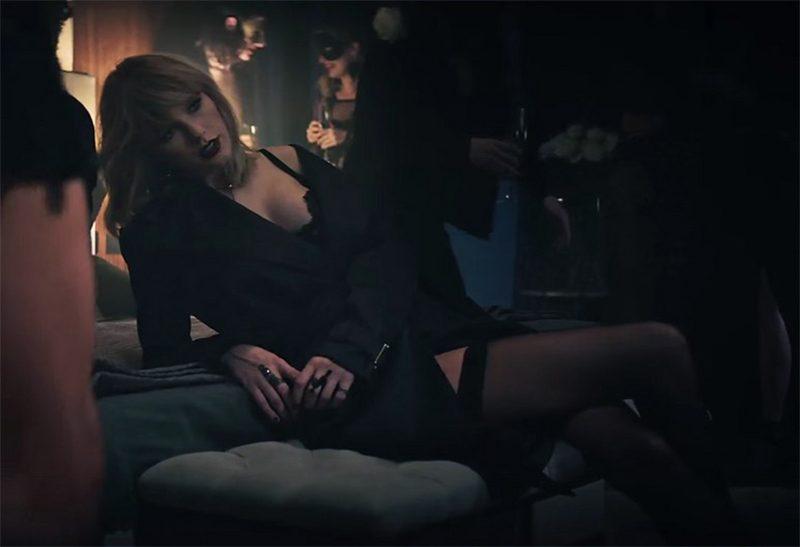 Clipe de Taylor Swift e Zayn Malik para a trilha de Cinquenta Tons Mais Escuros é broxante