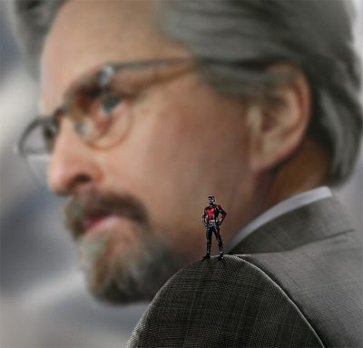 Michael Douglas confirma que participará da continuação de Homem-Formiga