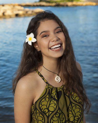 Jovem estrela de Moana vai estrear em seu primeiro projeto como atriz de carne e osso