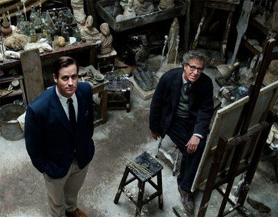 Geoffrey Rush tenta pintar Armie Hammer em teaser de drama dirigido por Stanley Tucci