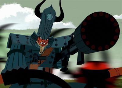 Cena inédita do revival de Samurai Jack mostra violência adulta da nova versão da série animada
