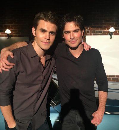 Elenco compartilha último dia de gravação de The Vampire Diaries nas redes sociais