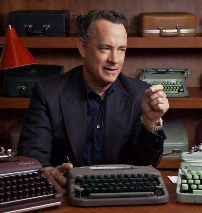 Tom Hanks vai estrear como escritor com sua primeira coleção de contos