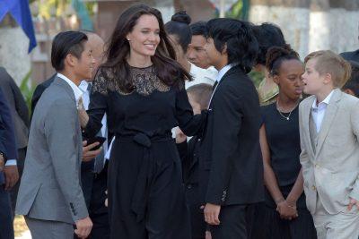 Angelina Jolie fala pela primeira vez do divórcio com Brad Pitt