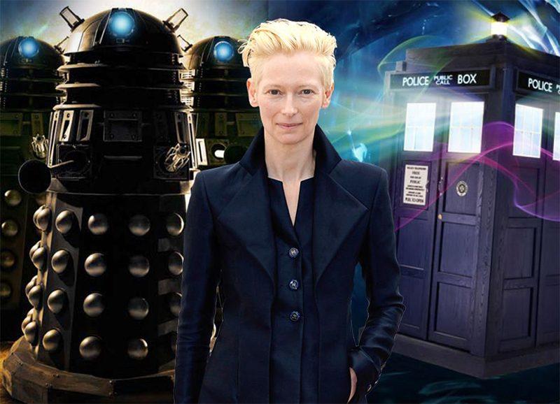 Tilda Swinton lidera apostas para viver o próximo Doctor Who