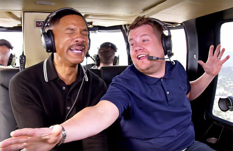 Will Smith canta tema de Um Maluco no Pedaço no trailer da série Carpool Karaoke