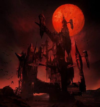 Série baseada no game Castlevania ganha primeira arte