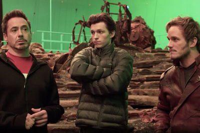 Primeiro vídeo de Vingadores: Guerra Infinita confirma Homem-Aranha e Guardiões da Galáxia