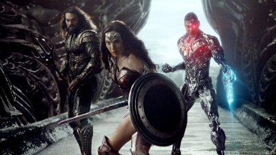 Nova foto da Liga da Justiça junta Aquaman, Mulher Maravilha e Ciborgue