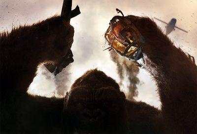 Veja 5 cenas, 4 pôsteres e 72 fotos inéditas com o elenco e os monstros de Kong: A Ilha da Caveira