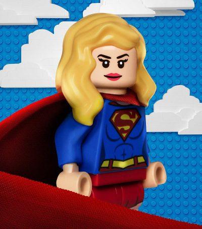 Séries dos heróis da DC Comics ganham pôsteres Lego