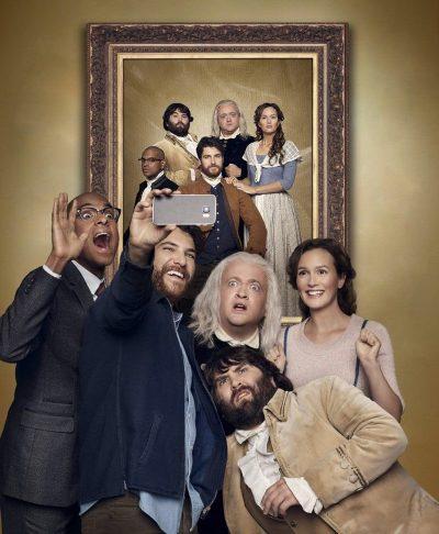 Lighton Meester viaja no tempo em fotos e comerciais da série de comédia Making History