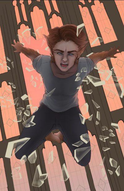 Diretor revela arte conceitual de Maisie Williams como a heroína Lupina dos Novos Mutantes