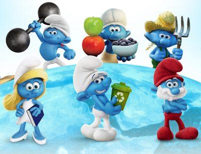 Smurfs viram garotos-propaganda da sustentabilidade em campanha da ONU
