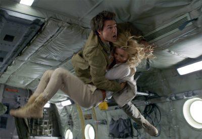 Bastidores de A Múmia revelam filmagens realistas em avião com gravidade zero