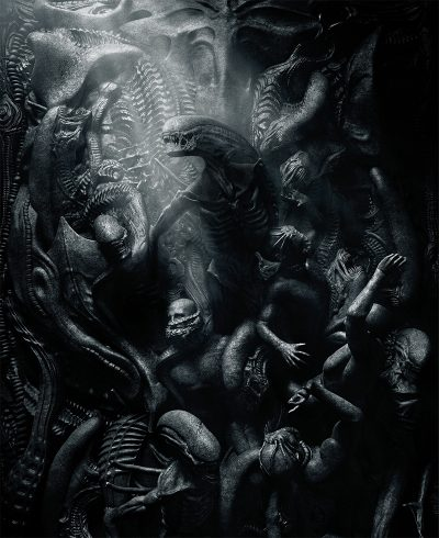 Novo pôster de Alien: Covenant evoca iconografia do inferno