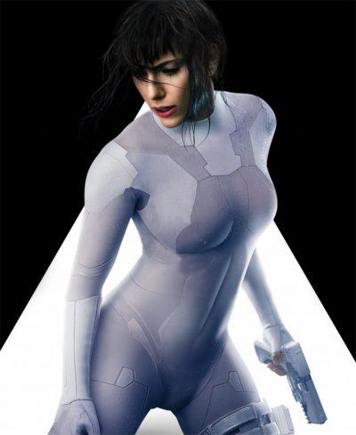 Scarlett Johansson se transforma em ciborgue no novo vídeo e pôsteres animados de A Vigilante do Amanhã