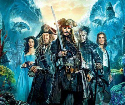 Fotos e o pôster nacional de Piratas do Caribe: A Vingança de Salazar destacam Johnny Depp e Javier Bardem