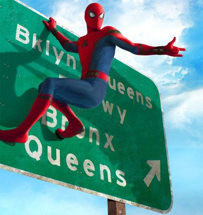 Homem-Aranha se integra à paisagem de Nova York em novo pôster