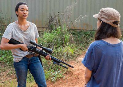 Sasha tenta matar Negar no trailer do próximo episódio de The Walking Dead