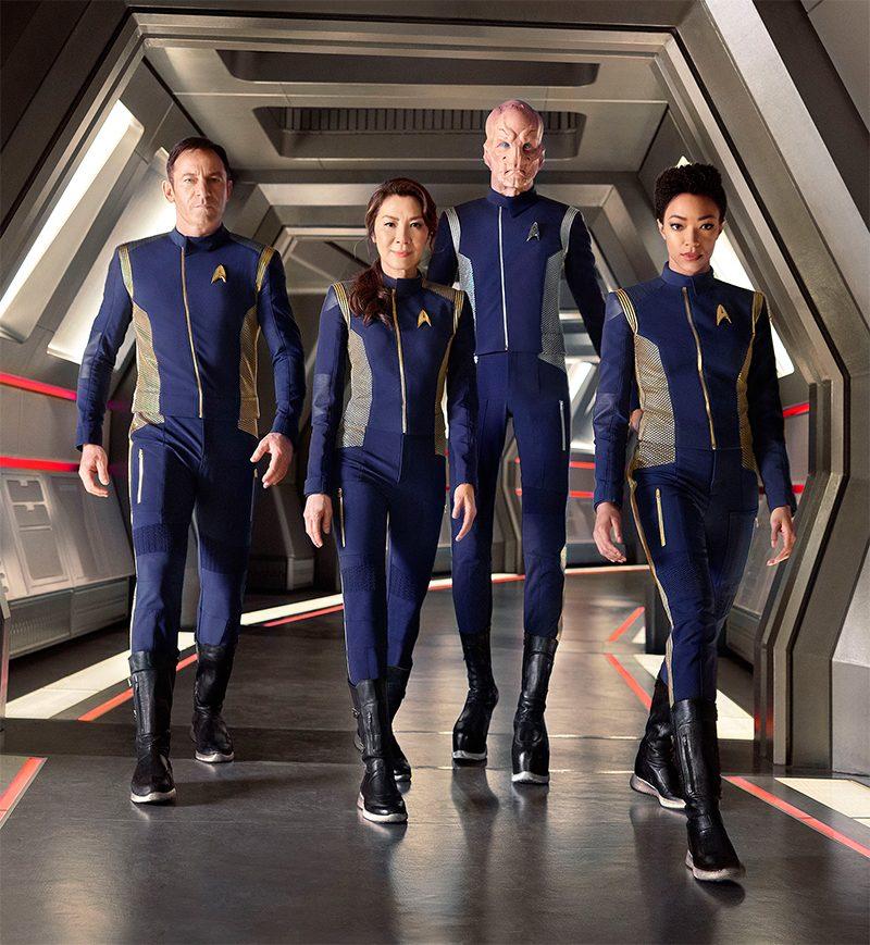 Capa da Entertainment Weekly, Star Trek: Discovery ganha novas fotos e vídeo de entrevistas