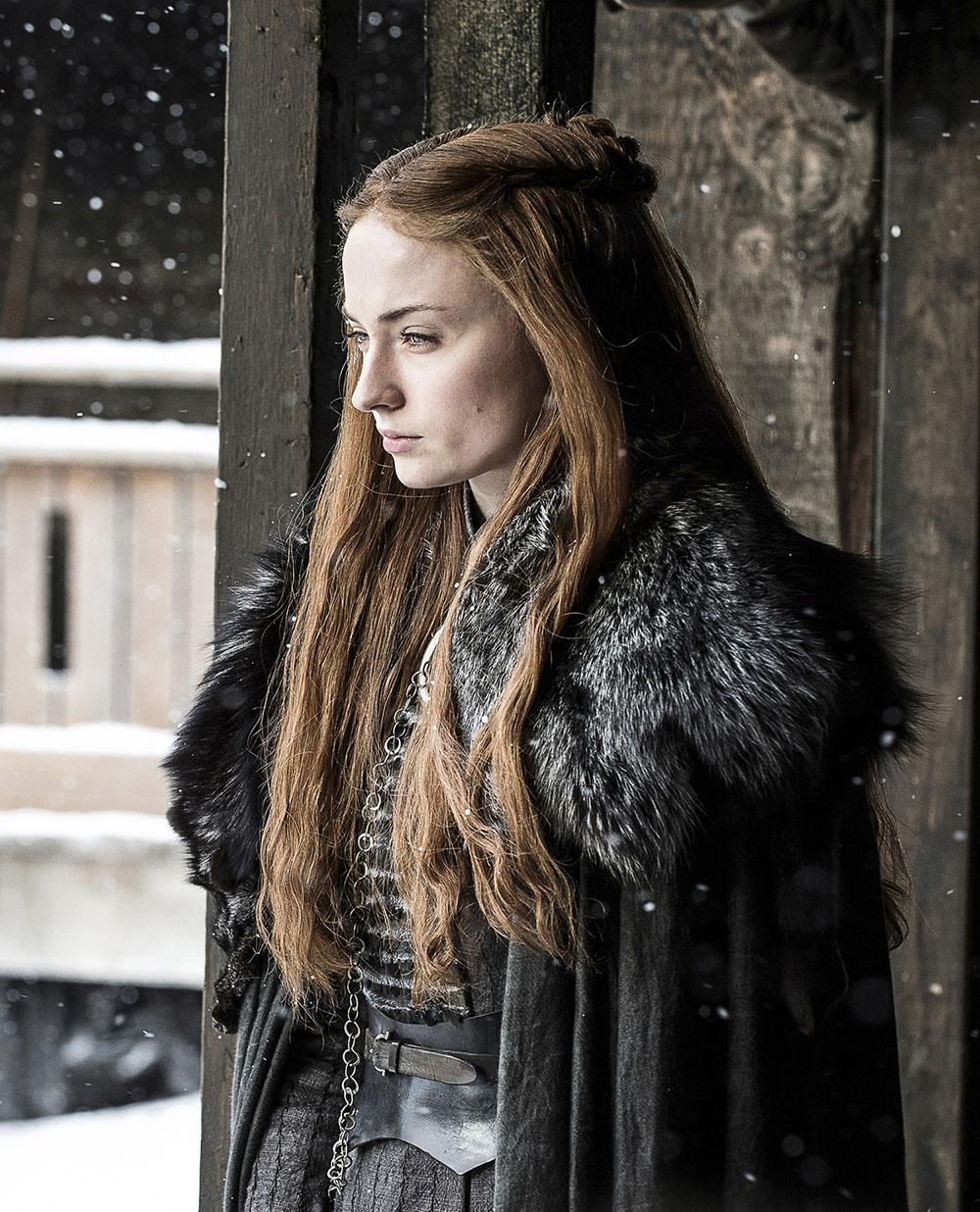 Sophie Turner releva que elenco chorou muito com leitura do final de Game of Thrones