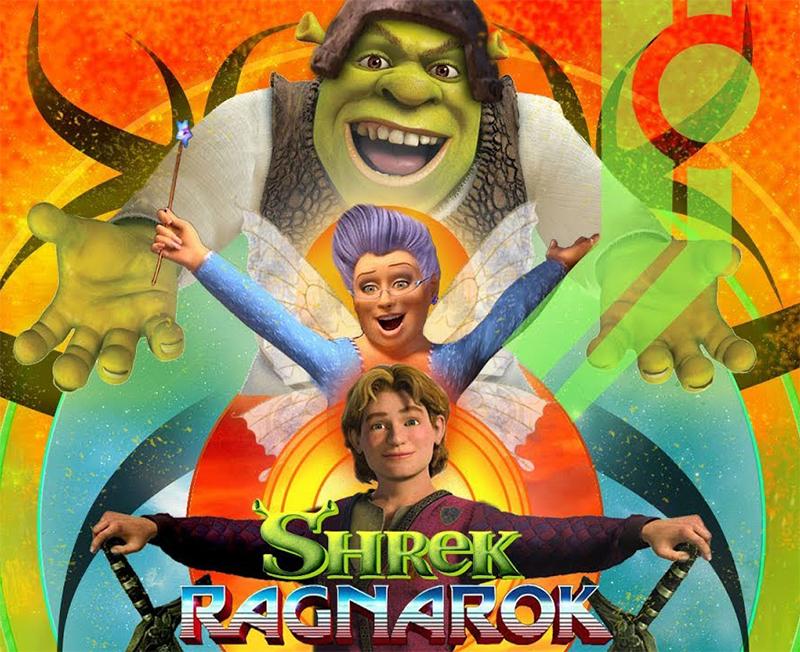Trailer de Thor: Raganarok é recriado com personagens da franquia Shrek
