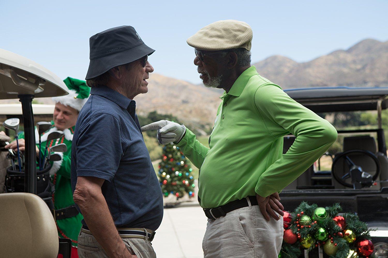 Morgan Freeman  e Tommy Lee Jones vivem rivais da Terceira Idade em trailer de comédia