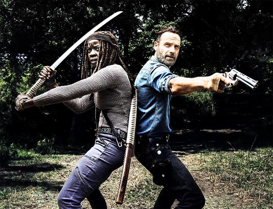 Teaser de The Walking Dead mostra aliados de Rick se preparando para a guerra