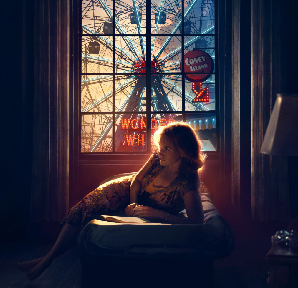 Kate Winslet ilustra primeiro pôster do novo filme de Woody Allen