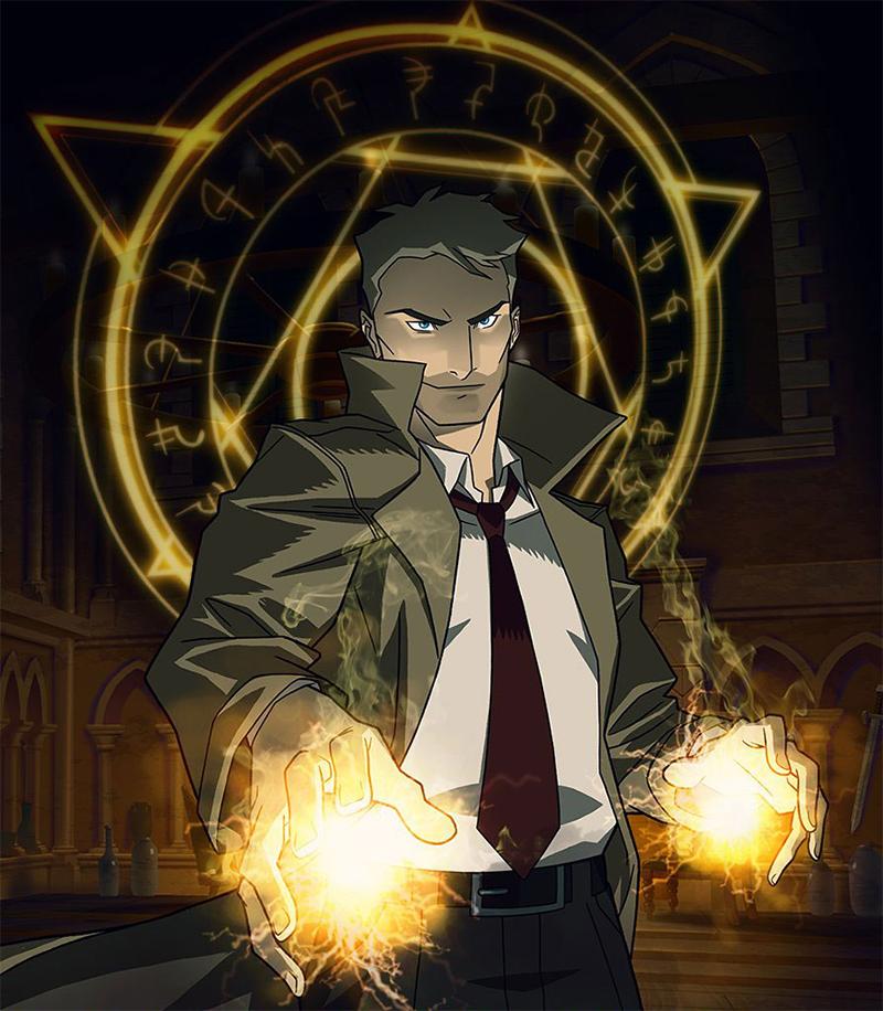 Cena de três minutos adianta clima sangrento da série animada de Constantine