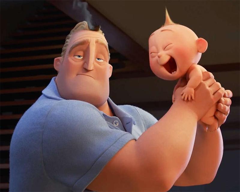 Primeiro vídeo de Os Incríveis 2 vira o trailer de animação mais visto da internet