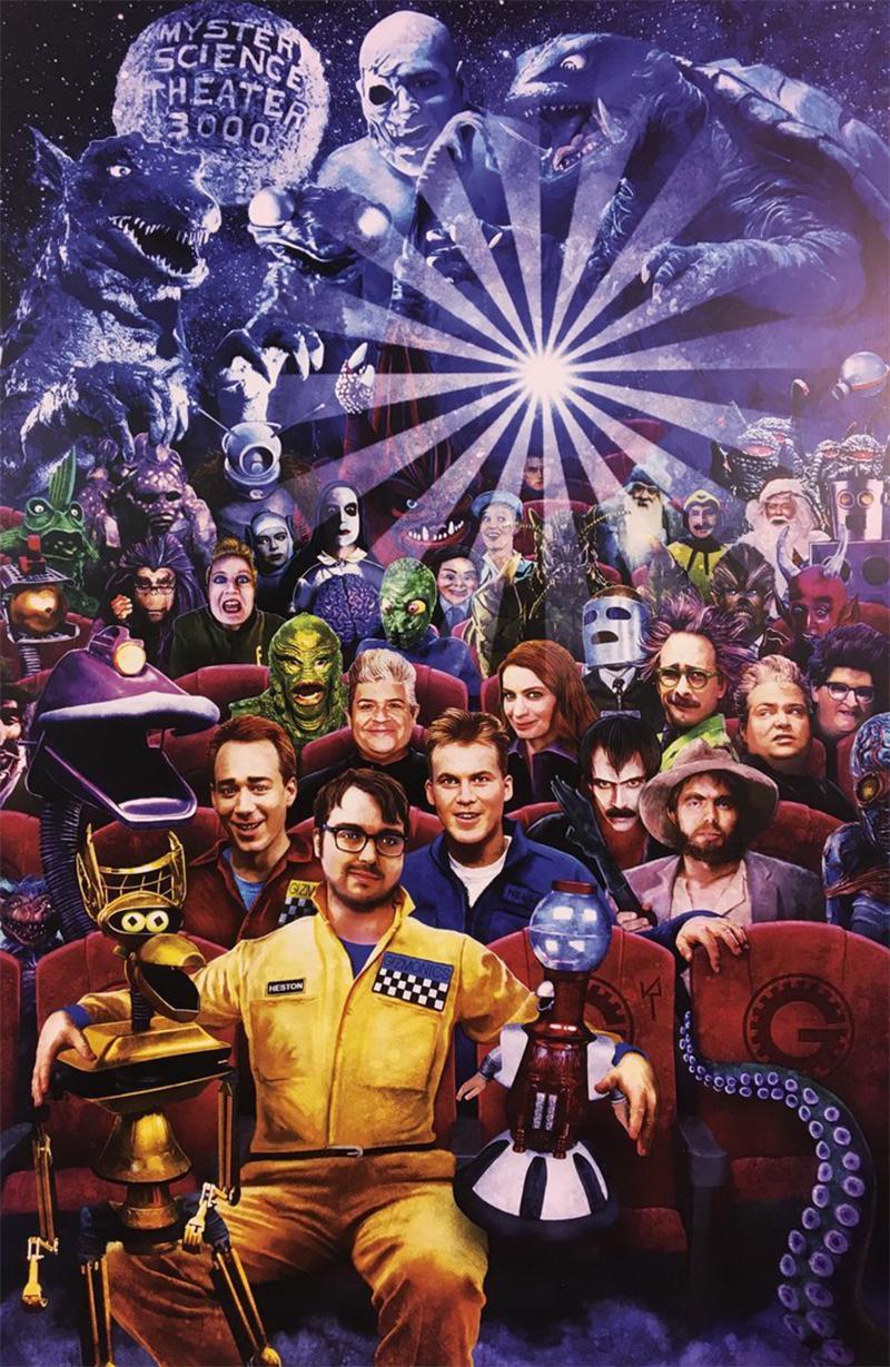 Mystery Science Theater 3000 é renovada pela Netflix