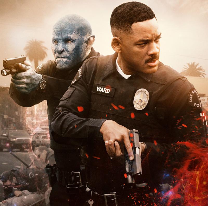 Bright: Vídeo legendado revela bastidores da superprodução da Netflix