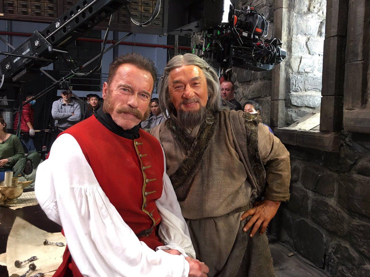 Filme russo que junta Schwarzenegger e Jackie Chan ganha primeiro teaser